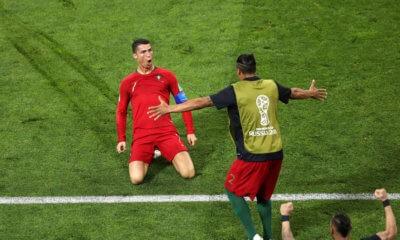 2018VB - Portugália 3:3 Spanyolország (videó)